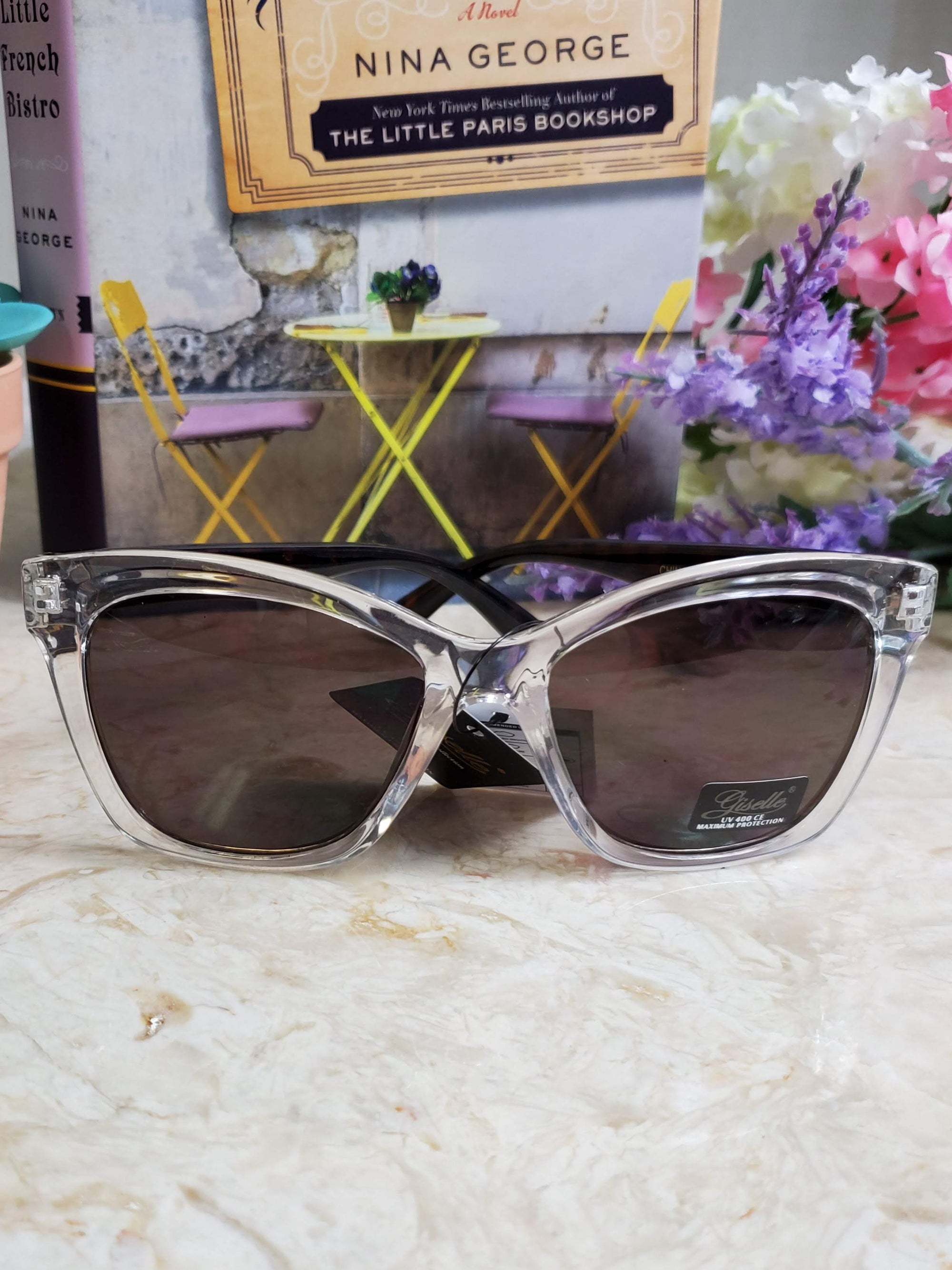 Halsted Clear Sunglasses