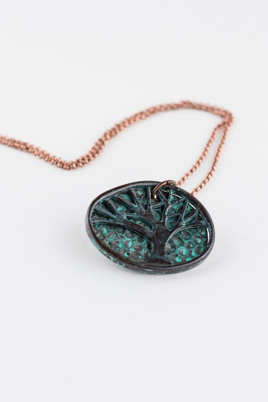 Patina Tree of Life Necklace RP-1375