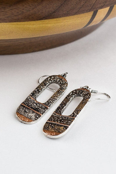 Accent Oblong Drop Earrings RP-2115