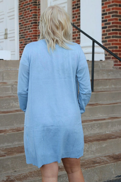 Margie Light Blue Cardigan