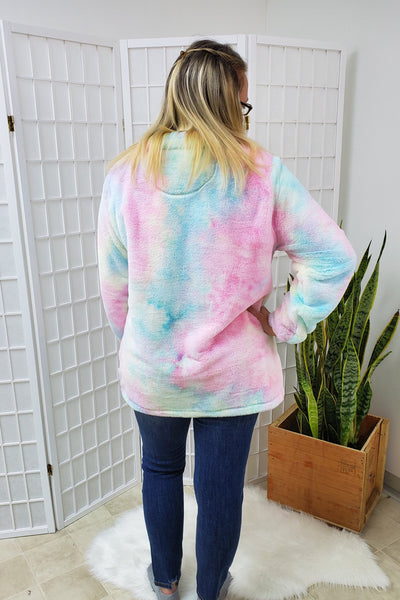Cotton Candy Pullover Jacket