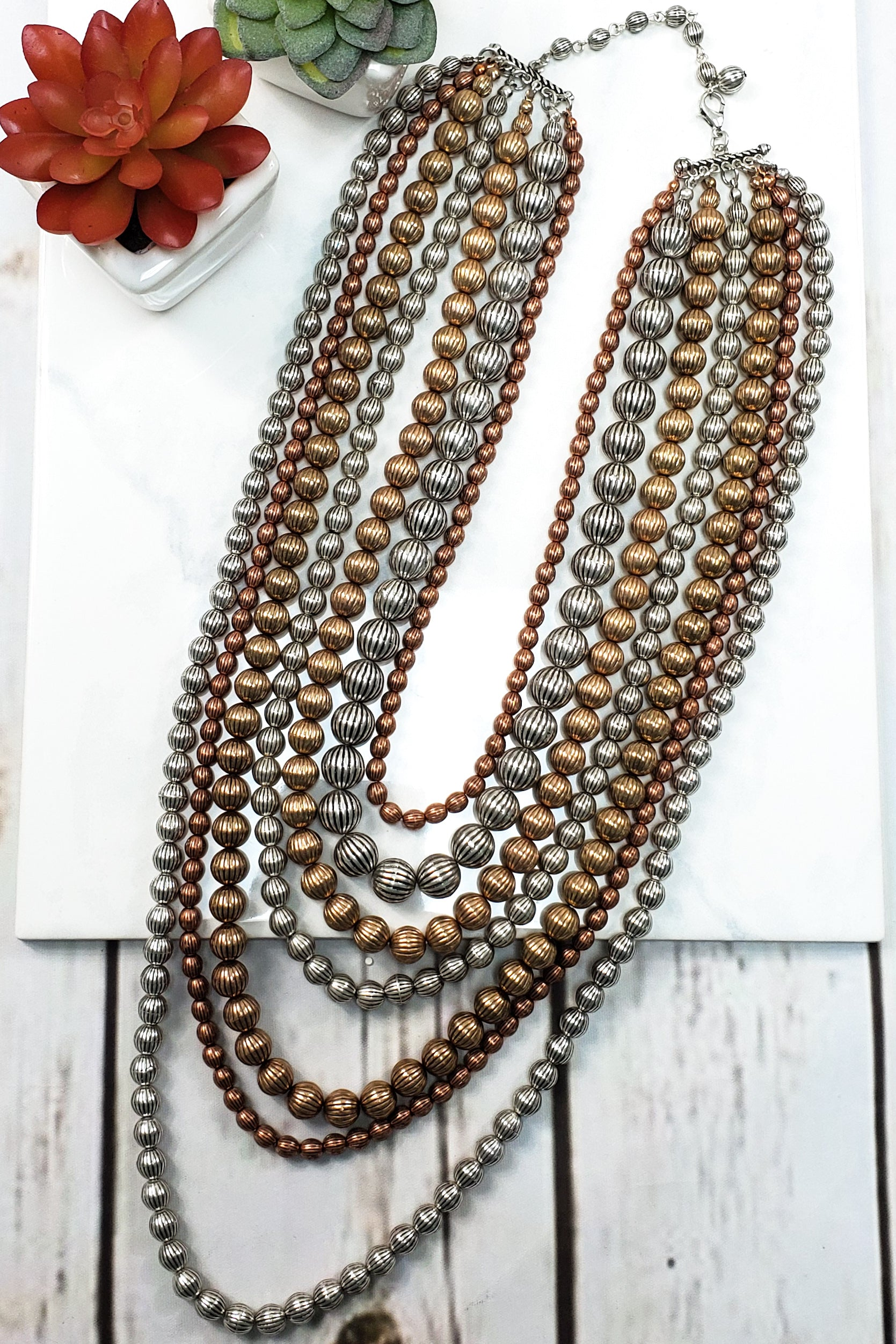 Multi Strand Necklace RP-1767