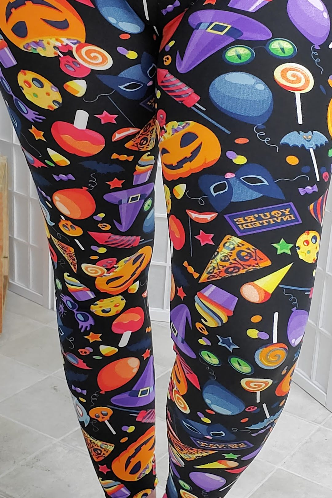 Spooky Party Leggings