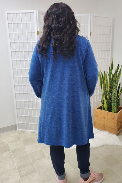 Marilyn Blue Soft Cardigan (Item #33)