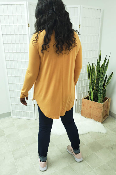 Turner Ash Mustard Top (item #06) *CLEARANCE*