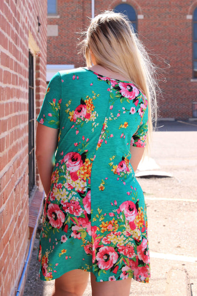 Samantha Floral Dress *ONLY SMALL LEFT