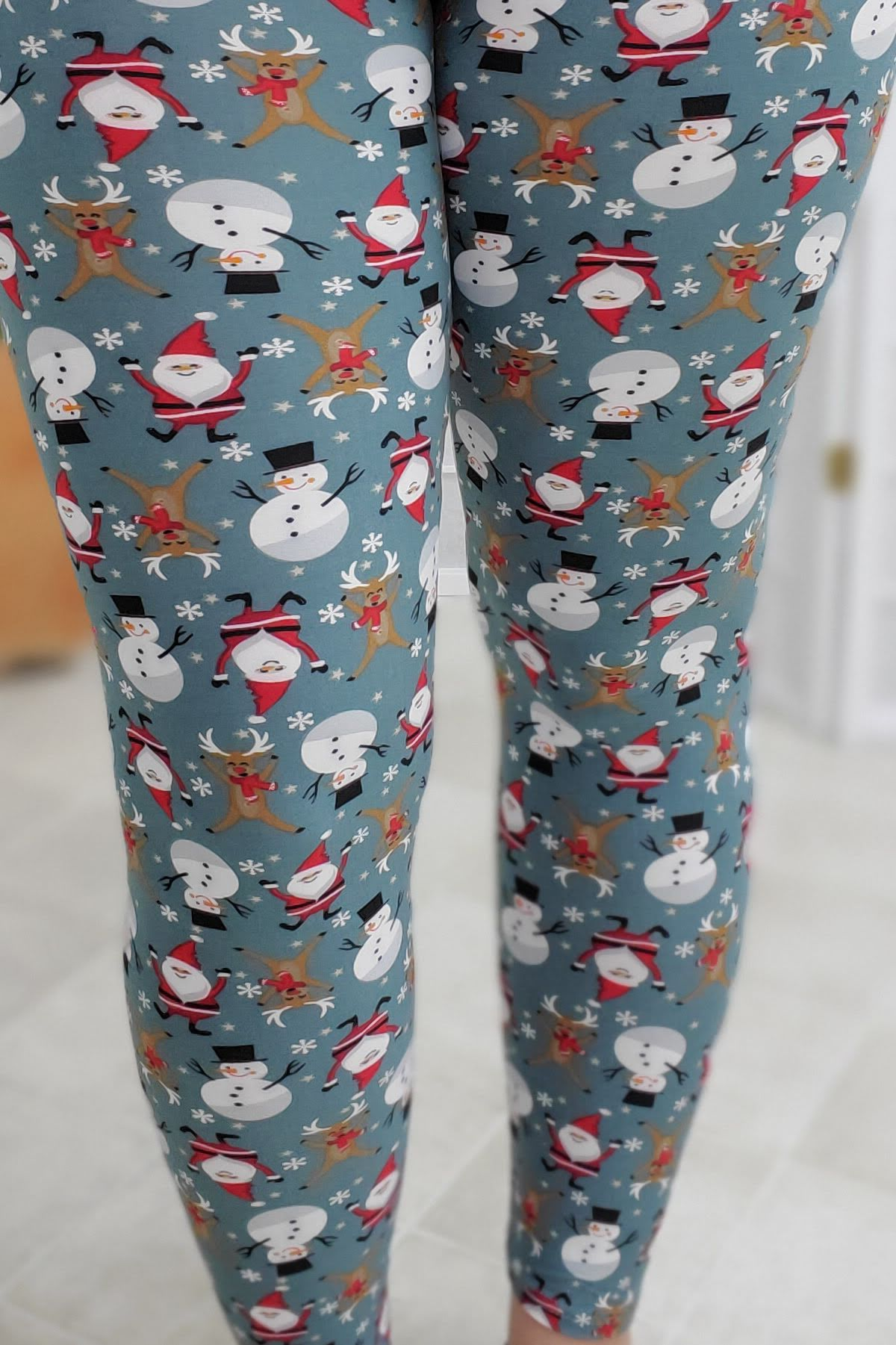 Winter Parade Leggings