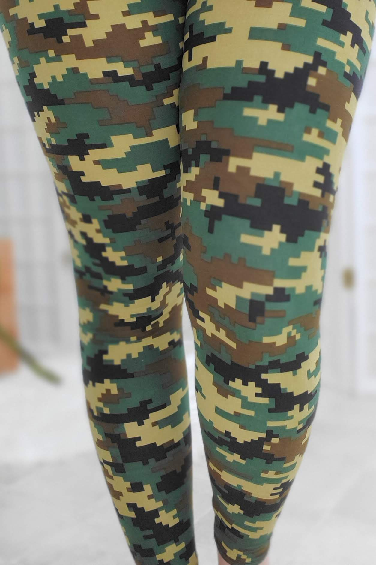 Forest Digi Camo Leggings
