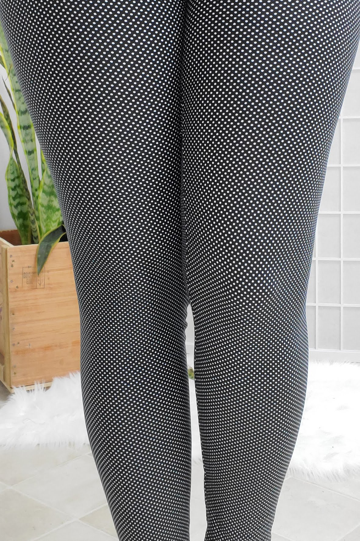 Speckled Polka Leggings