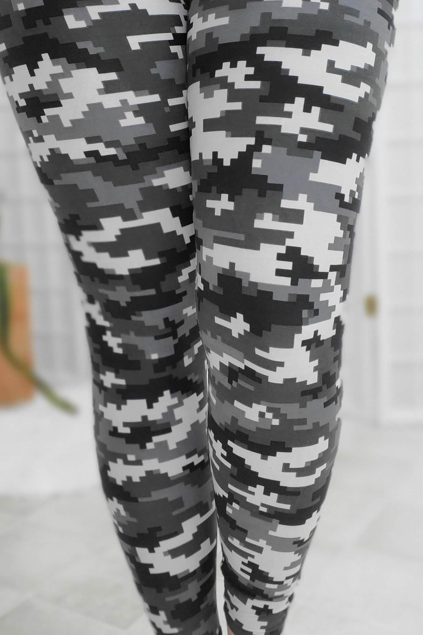 Gunmetal Digi Camo Leggings