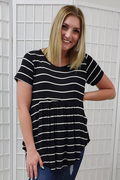 Reign Striped Top
