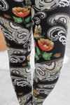Ornamental Paisley Leggings