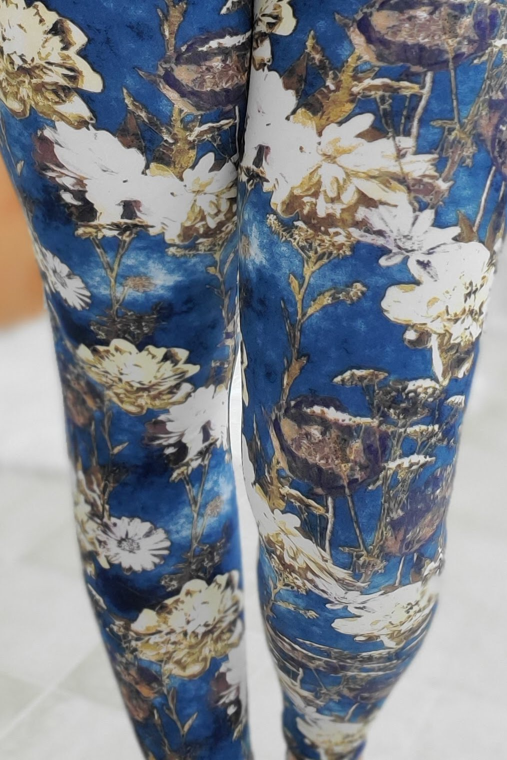 Vintage Garden Yoga Band Leggings *SPECIALIZED*