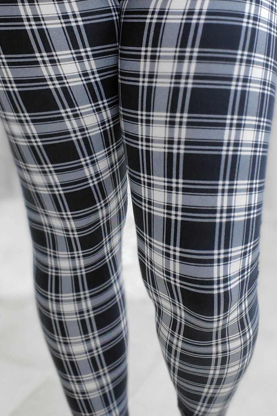 Old Fashioned Plaid Leggings