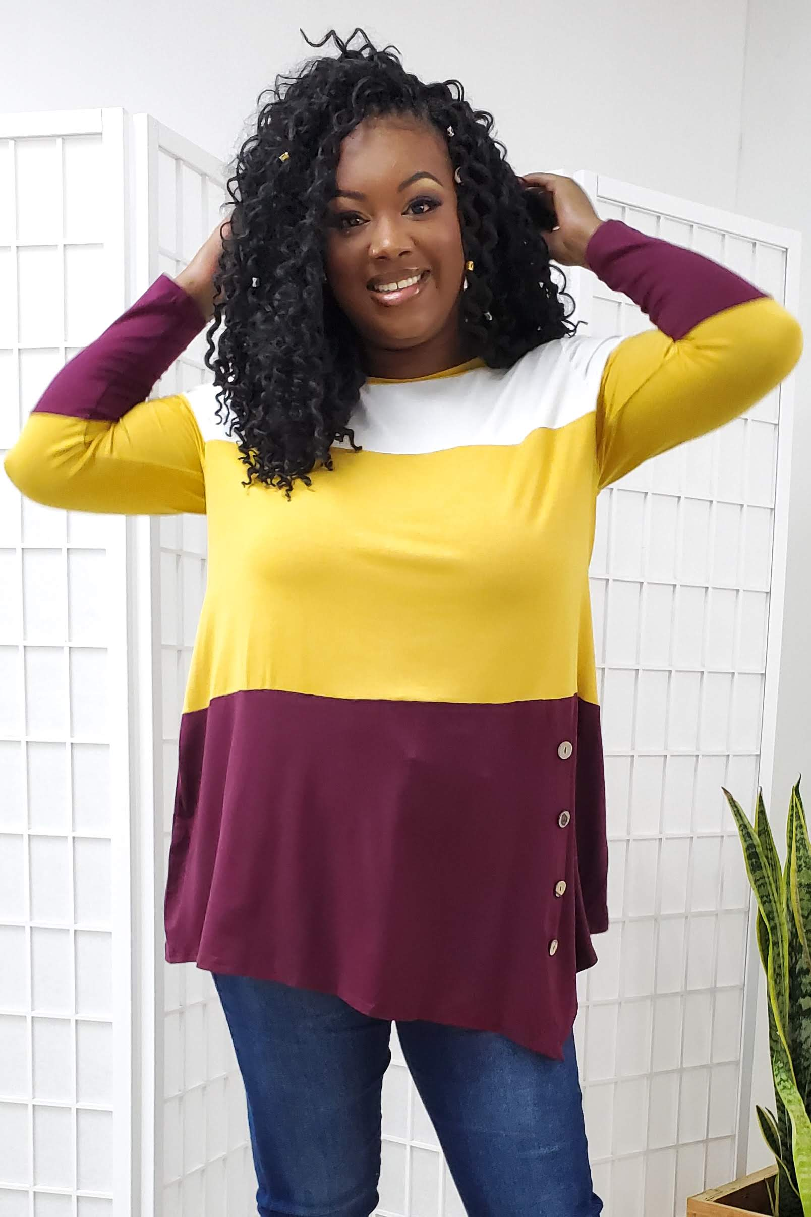 Remy Color Block Top