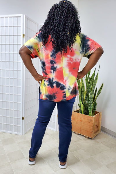 Messina Tie Dye Top