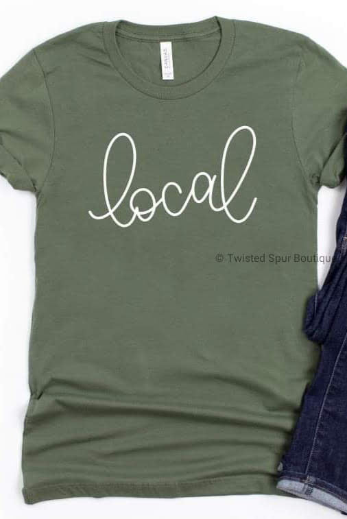 Local Tee (Bella Canvas)