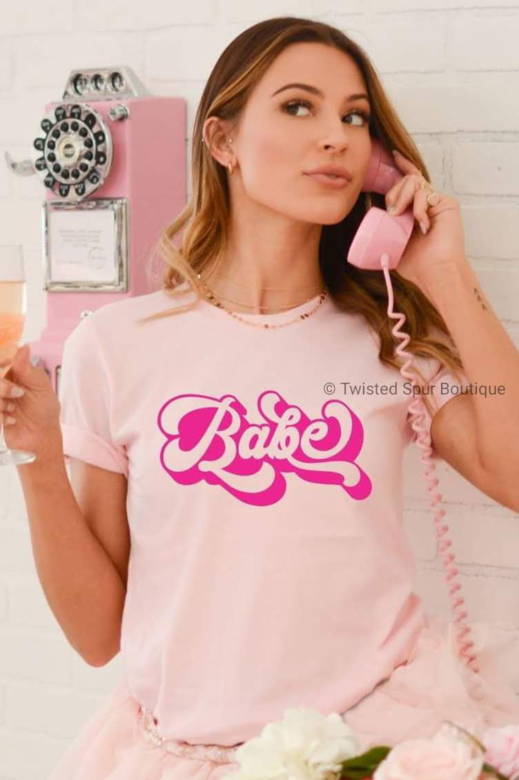 Babe Tee (Bella Canvas)