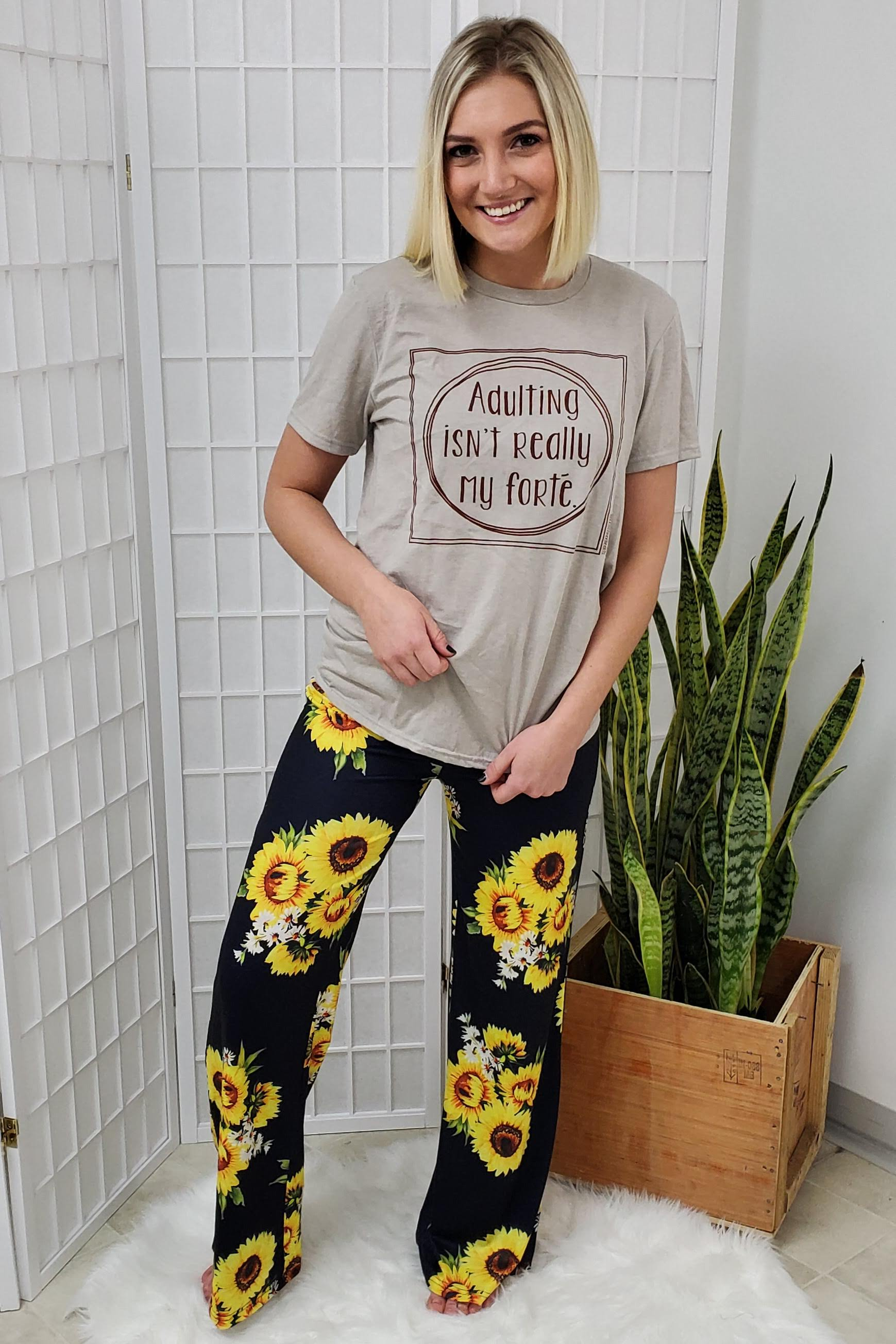 Chicago Sunflower Lounge Pants