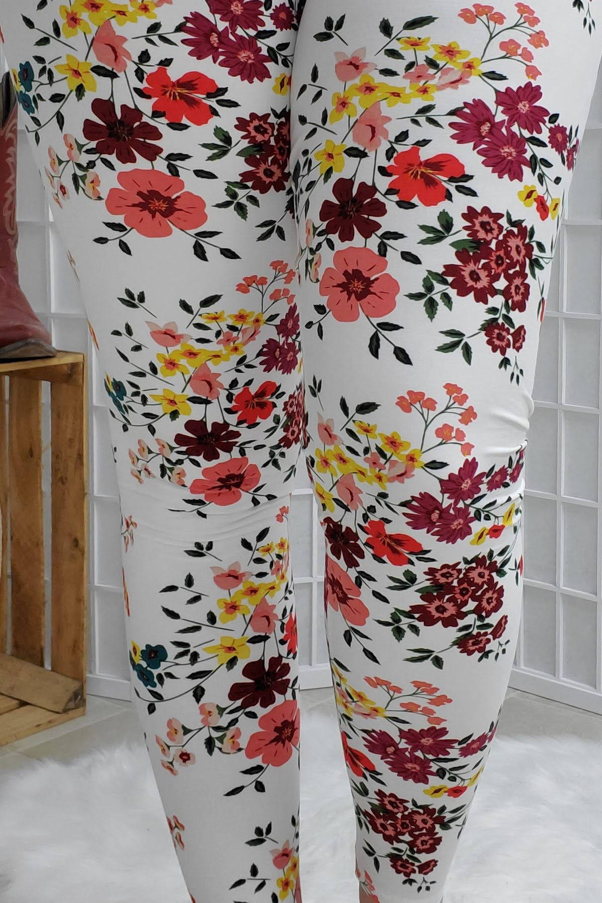 Ivory Spring Leggings
