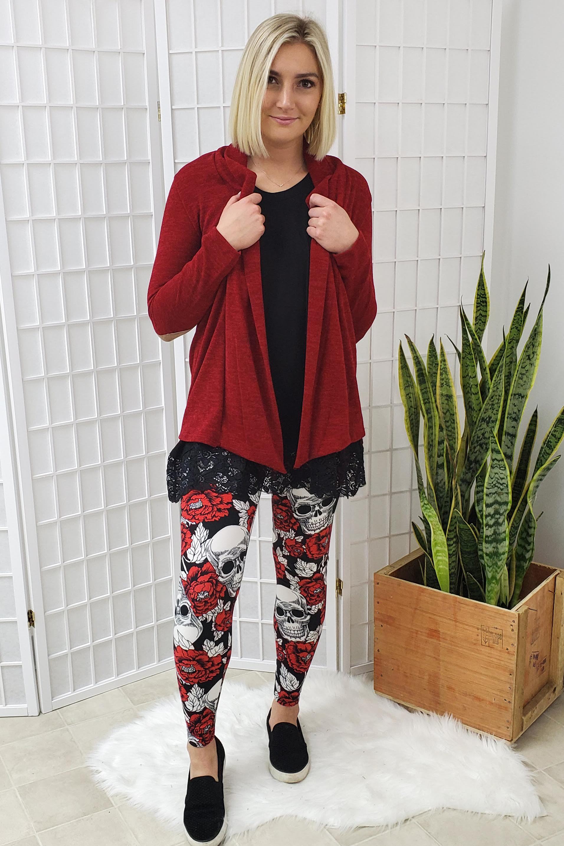 Norah Red Cardigan