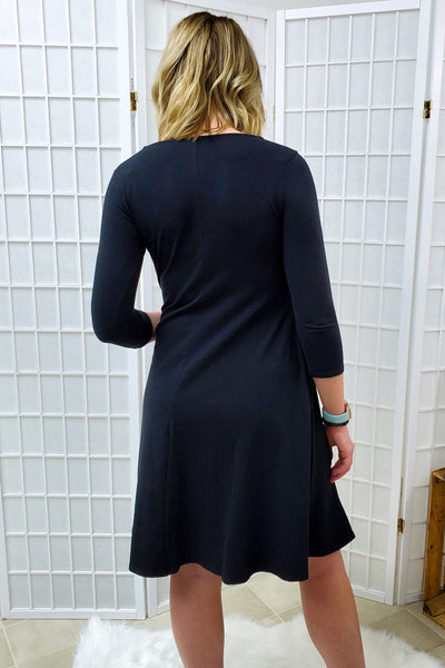 Sloan Black Dress