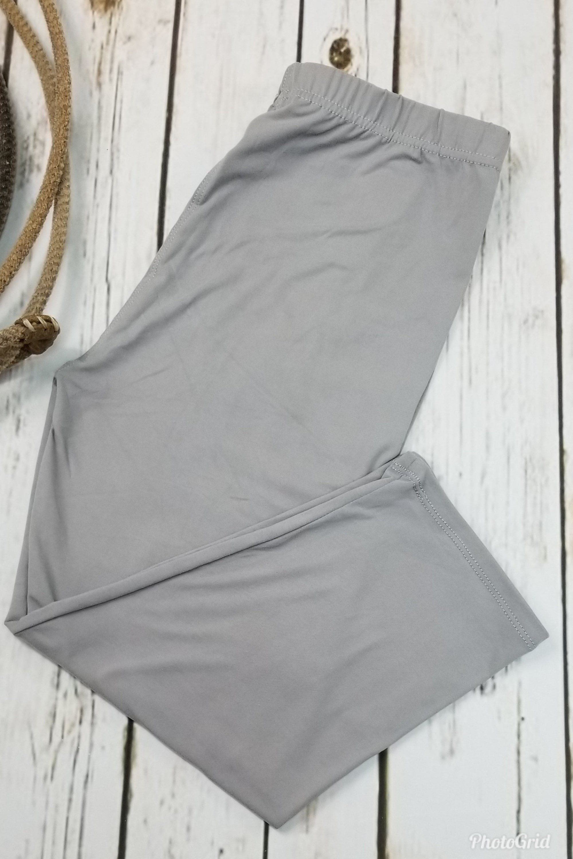 Capri Solid Grey CLEARANCE