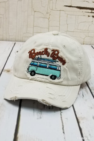 Beach Bum Light Tan Hat