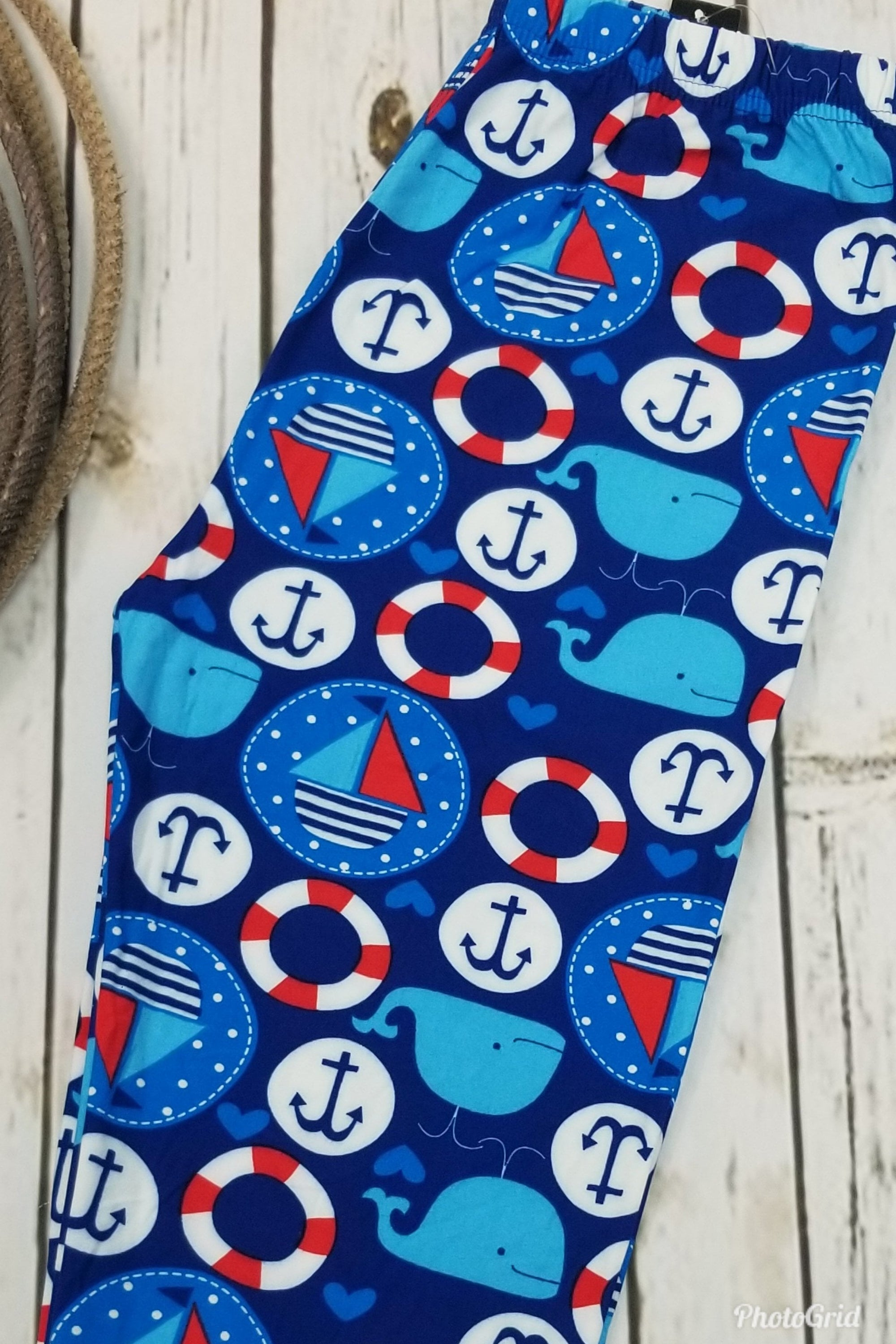 Whale Of A Tale Leggings