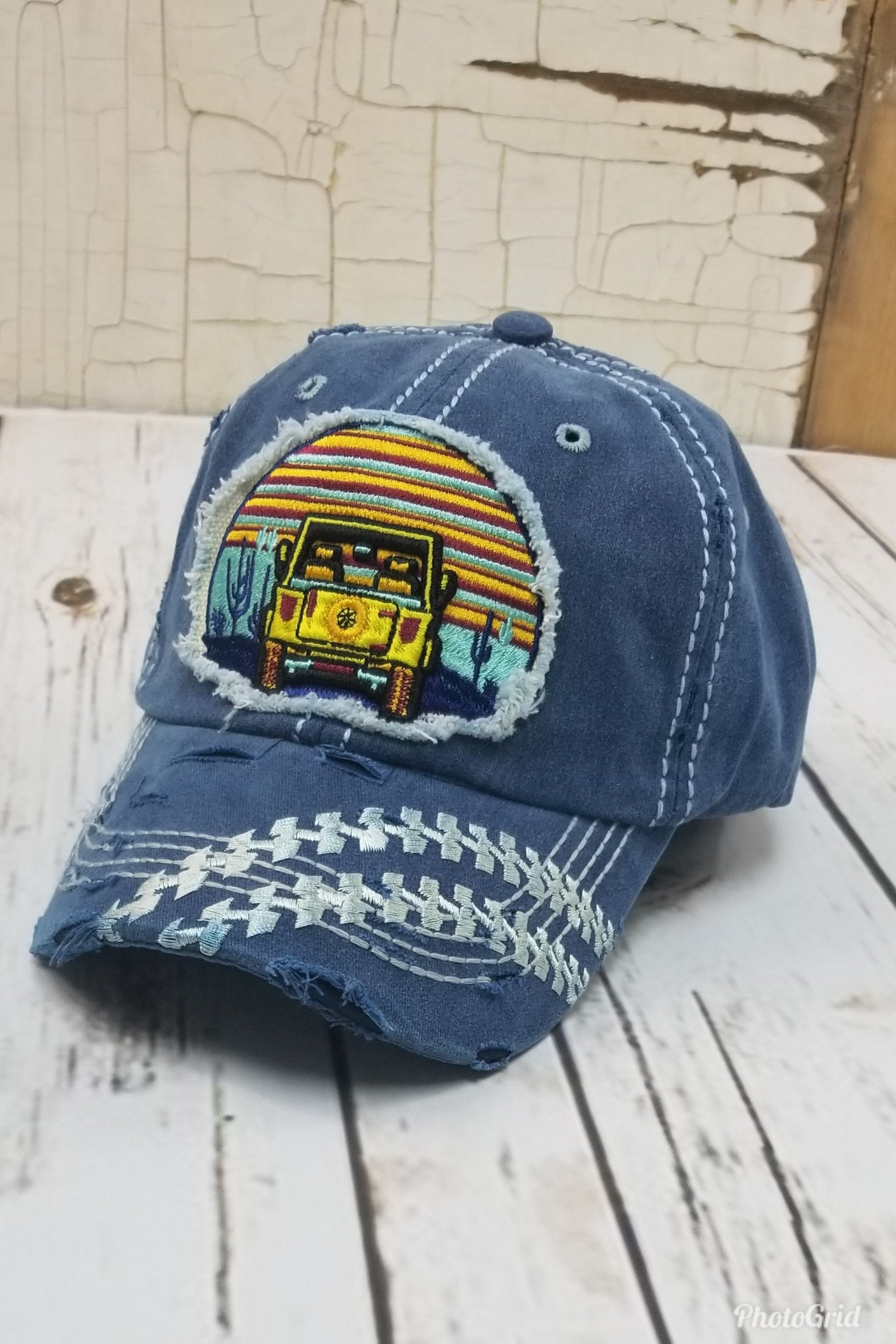 Jeep Denim Blue Hat