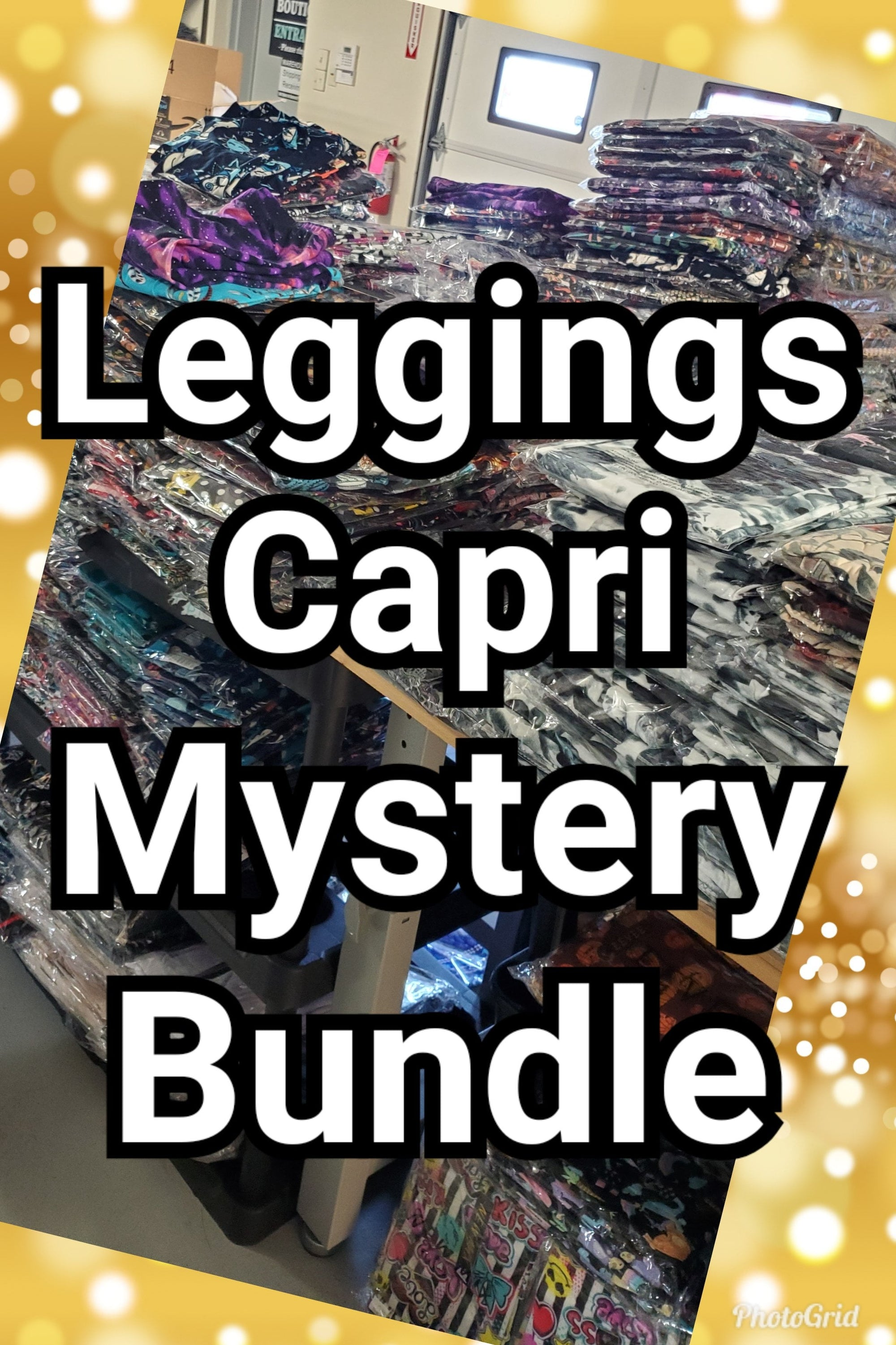*MYSTERY BUNDLE 4pk Leggings/Capris
