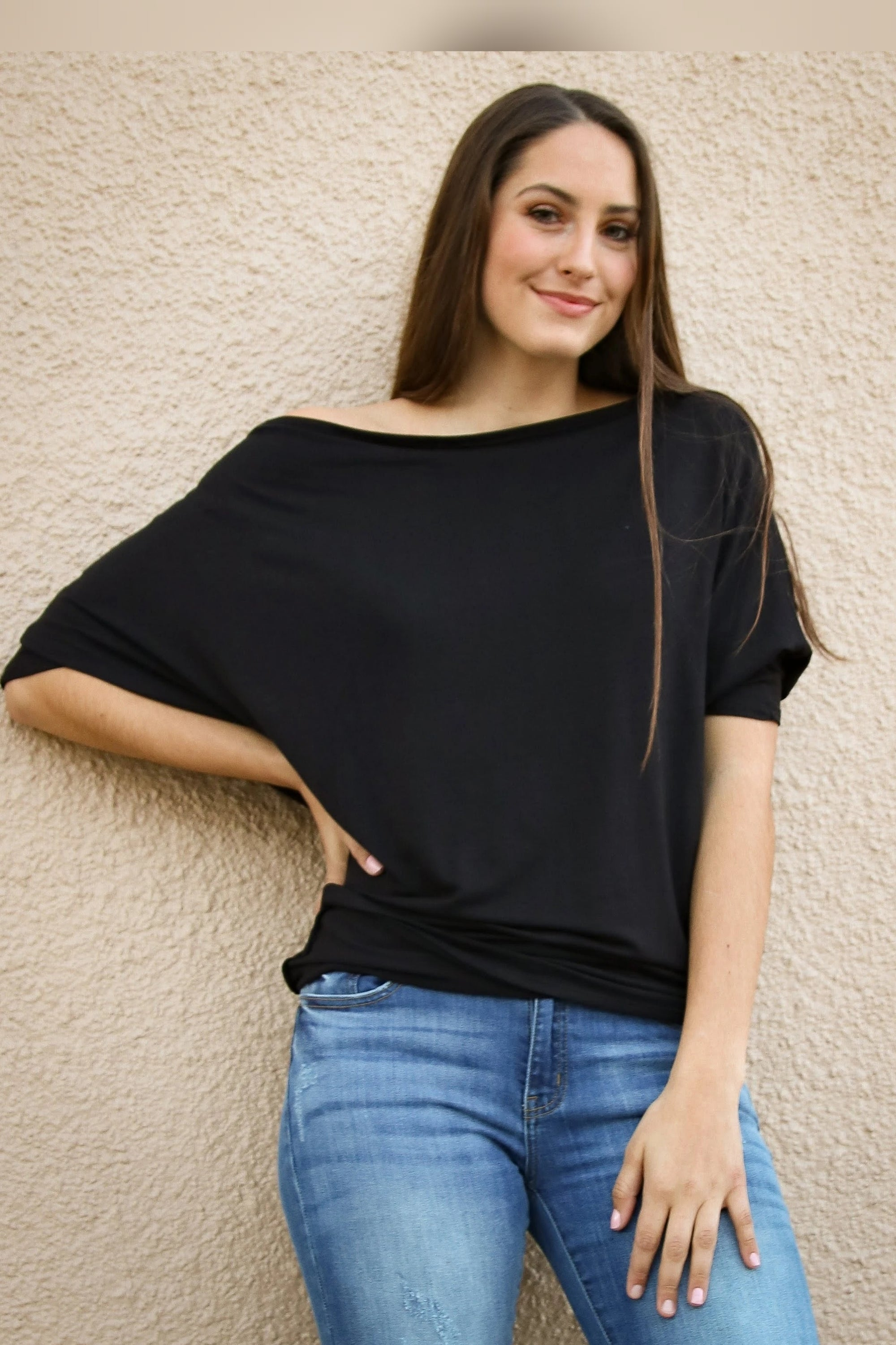 Tristan Off Shoulder Top *only sm & 3xl left