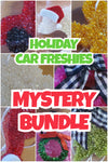4pk HOLIDAY MYSTERY Car Freshie Bundle