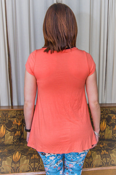 Dakota Coral Top