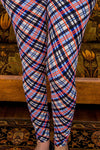 New School Plaid Leggings