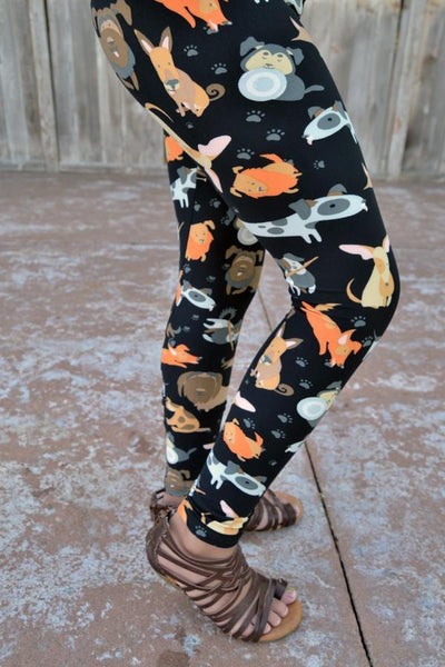 Dog Park Leggings *LIMITED SPECIALIZED PRINTS*