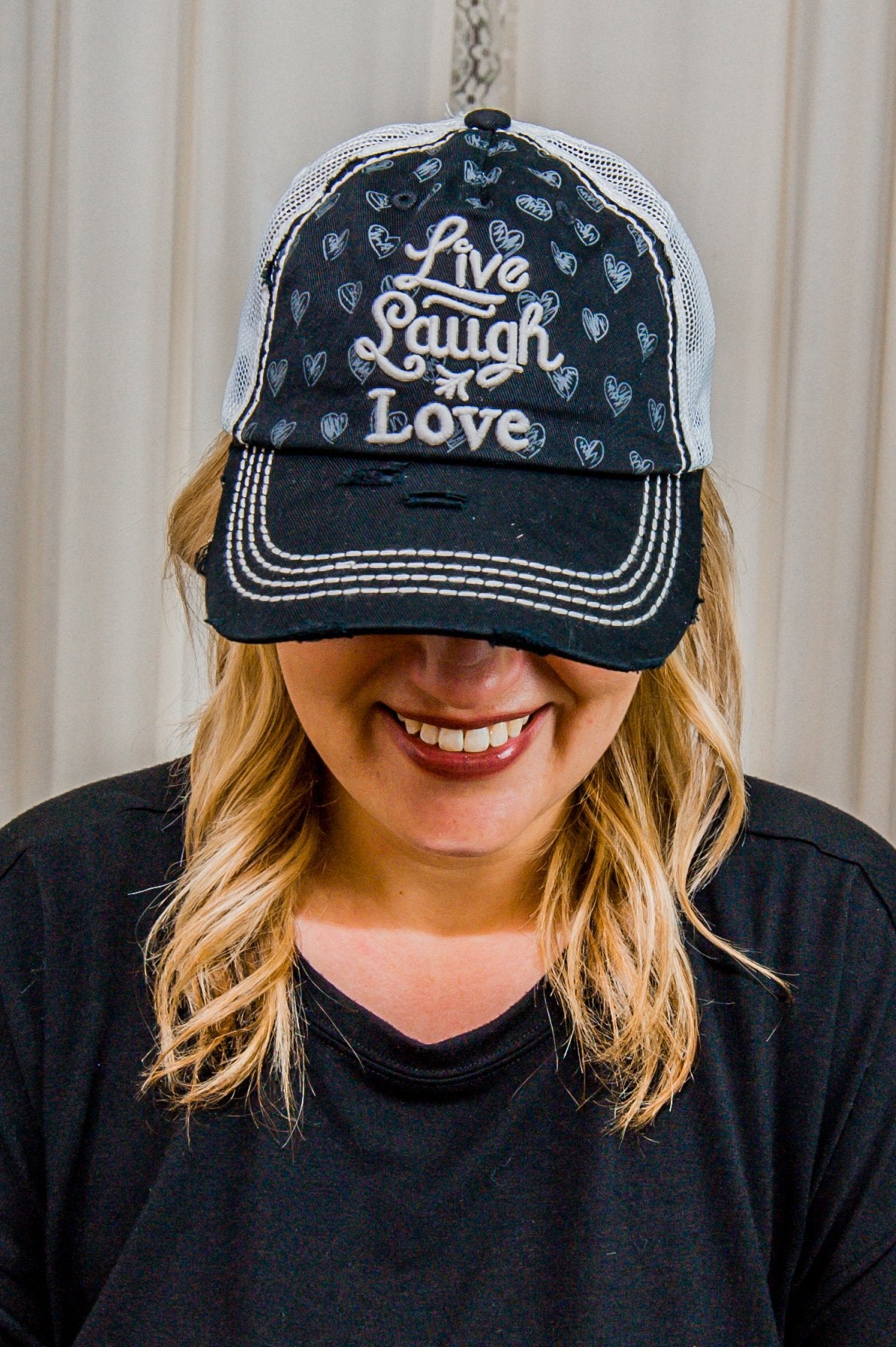 Live Laugh Love Hat