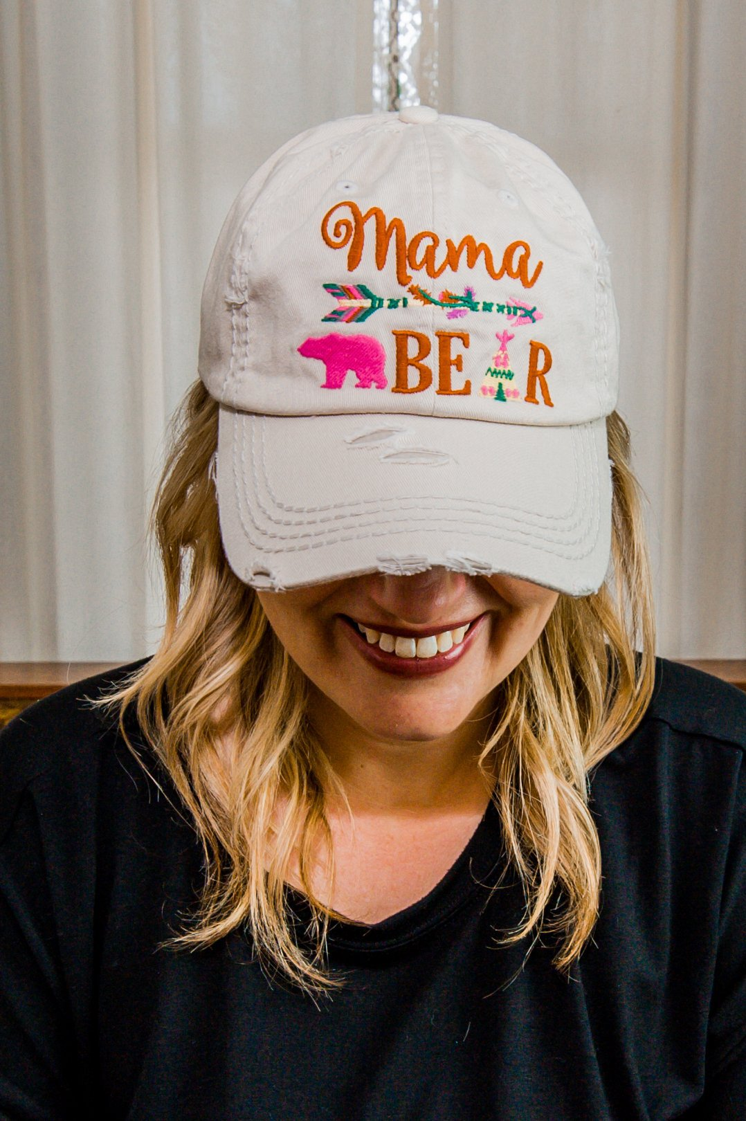 Mama Bear Tan Hat