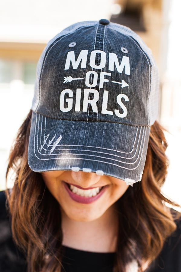 Mom of Girls Hat