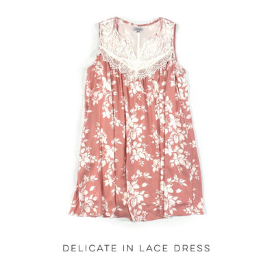 Delicate in Lace Dress