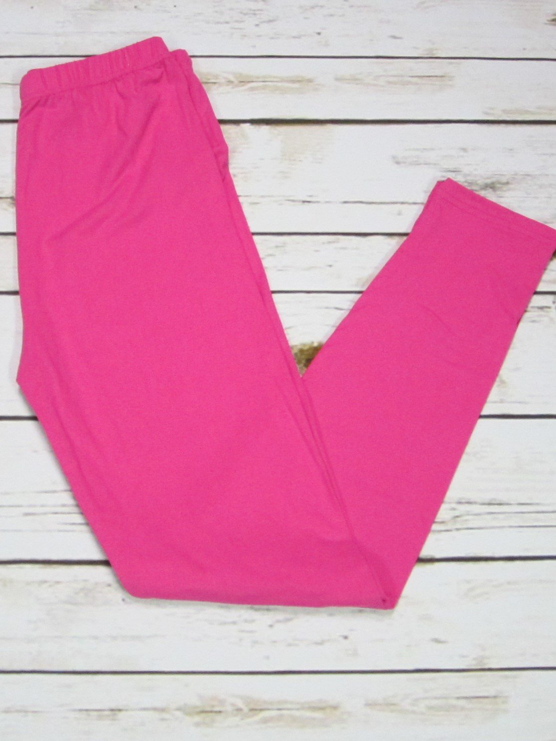 Solid Fuchsia Leggings