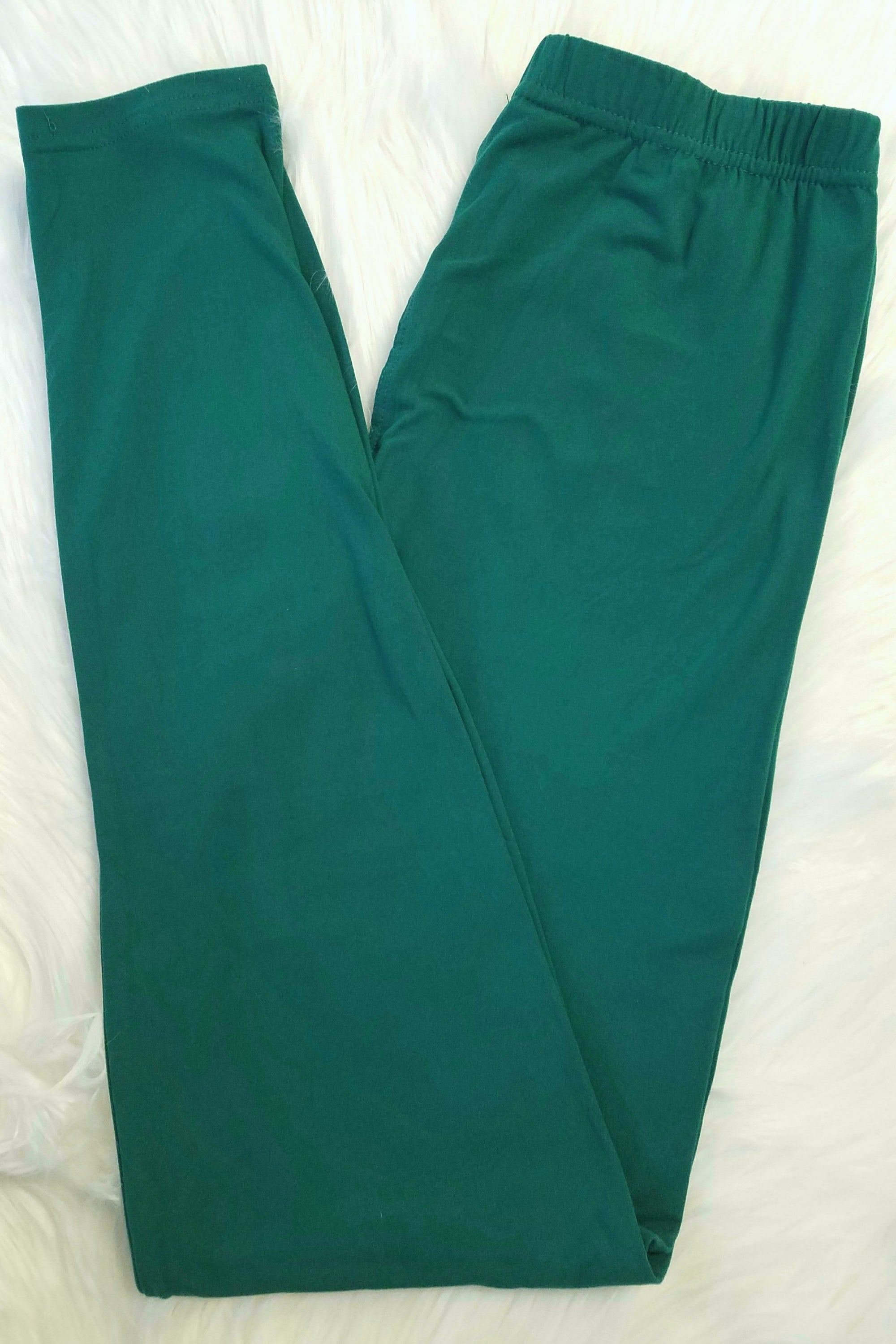 Solid Jade Leggings
