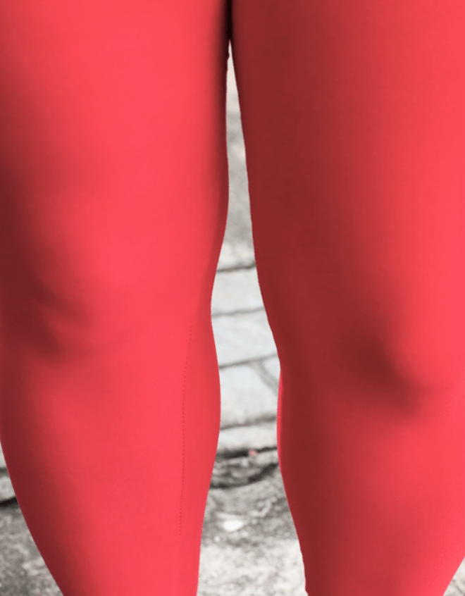 Solid Red Leggings