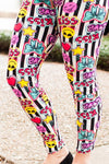 Graffiti Love Leggings
