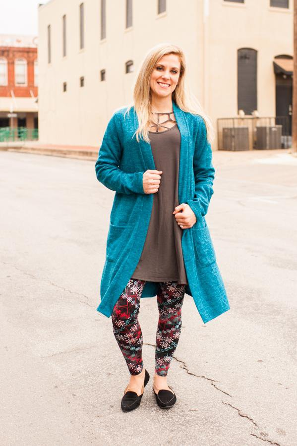 Marilyn Teal Soft Cardigan CLEARANCE