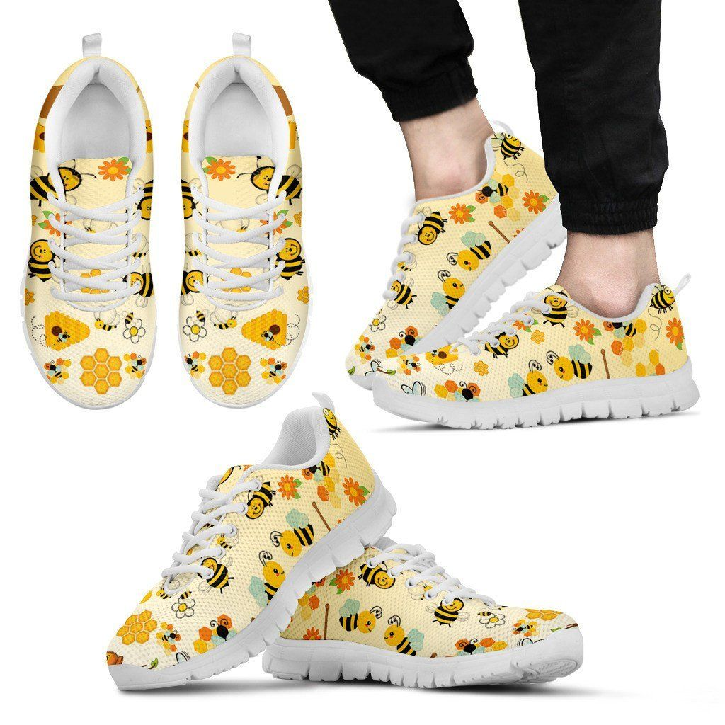 Bee 3 White Sole Sneakers Available in Men's, Women's, and Kid's Sizes