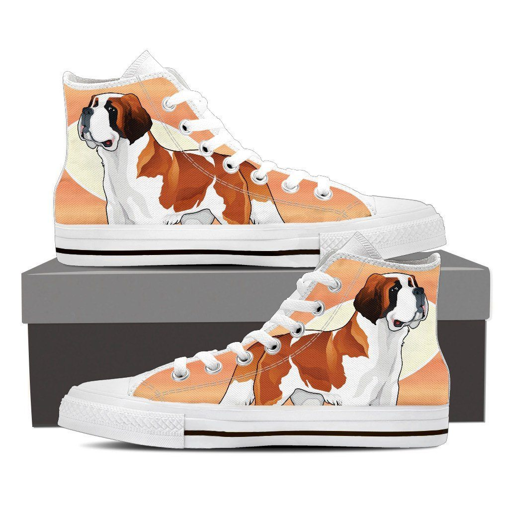 Saint Bernard Male Black High Tops