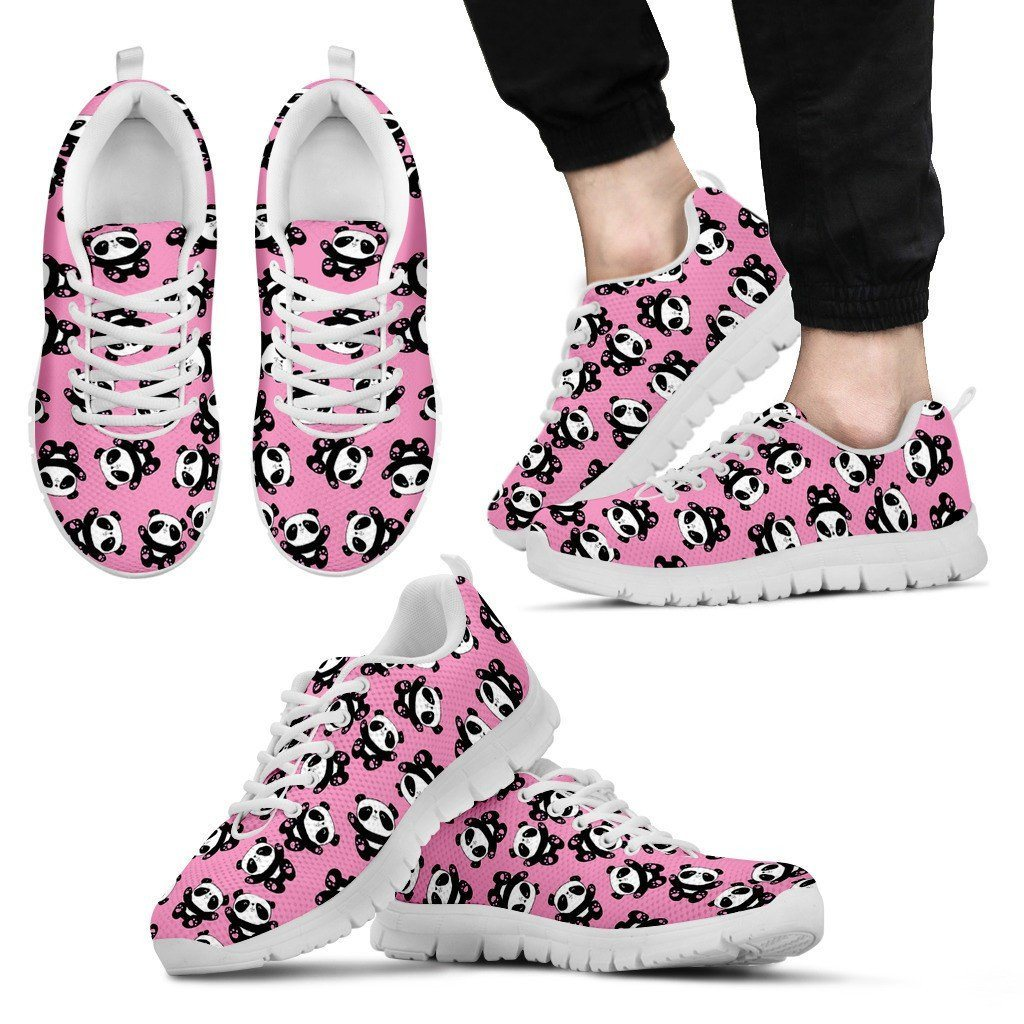 Panda 2 Print Sneakers Available in Men's, Women's and Kid's Sizes