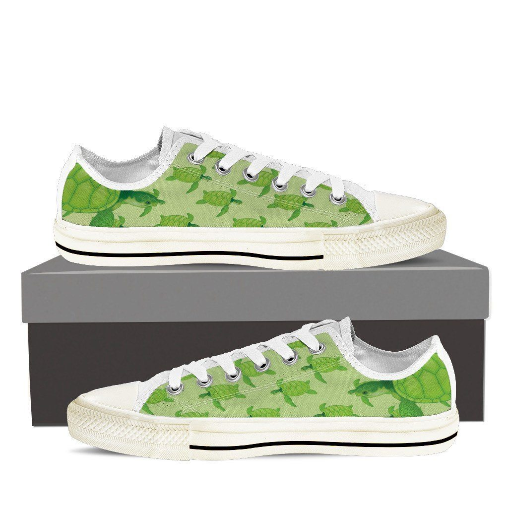 Sea Turtle Low Tops