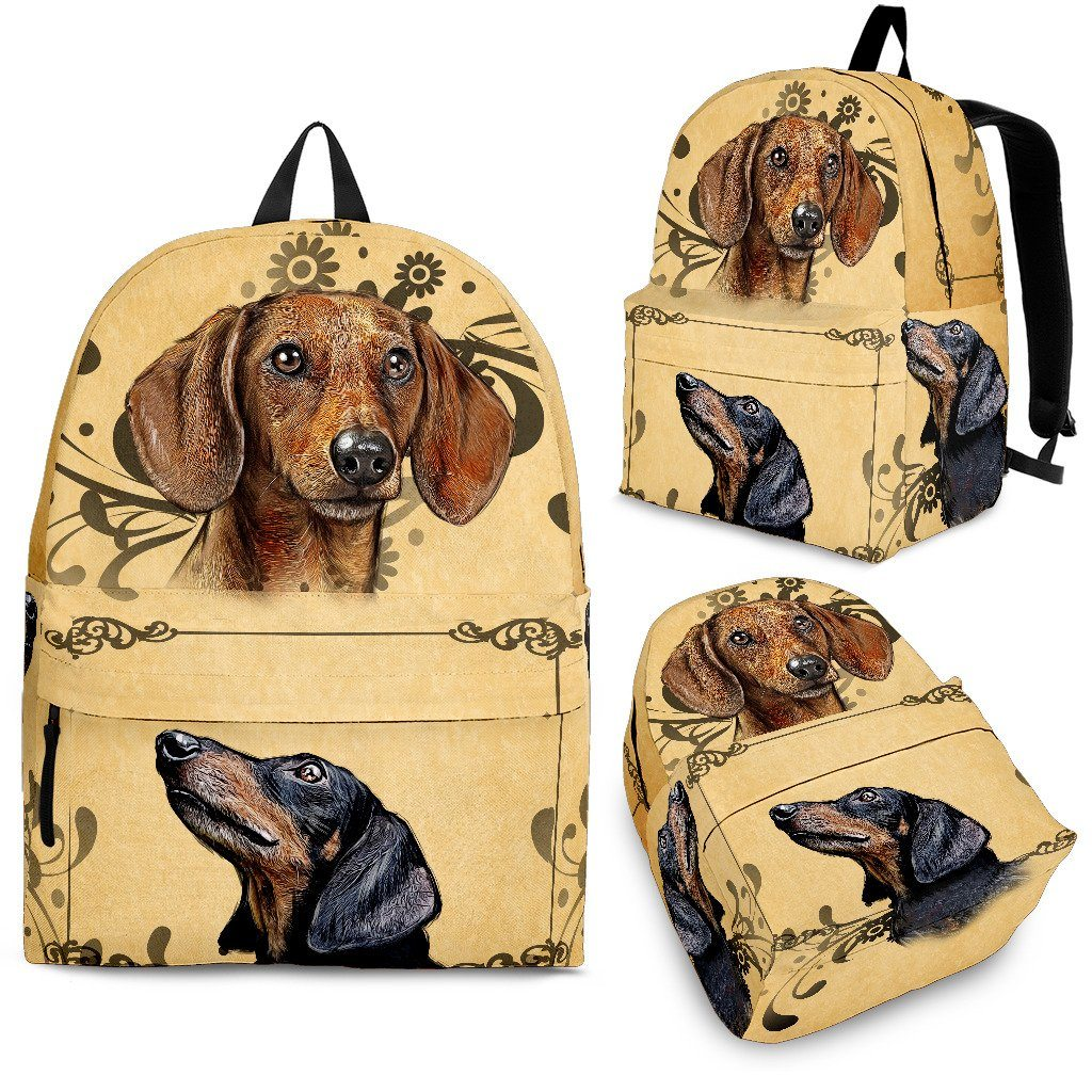 Dachshund Love Backpack